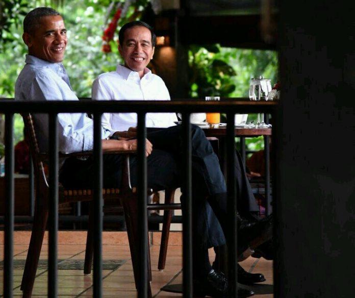 Pertemuan Jokowi dan Obama